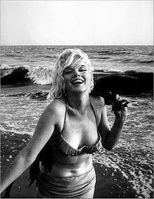 #Marilyn #Monroe fotografata da George #Barris