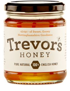 Cute product and website - Trevor's Honey