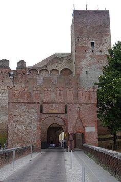 Cittadella, Porta Bassano, Treviso, Veneto, Italy