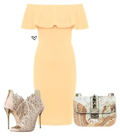 """""""1 bag 100 sets. 8/100"""" by lillyrosalie ❤ liked on Polyvore featuring WearAll, Valentino and Oscar de la Renta"""