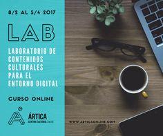 Nuevo! Curso online: Laboratorio de contenidos culturales para el entorno digital.