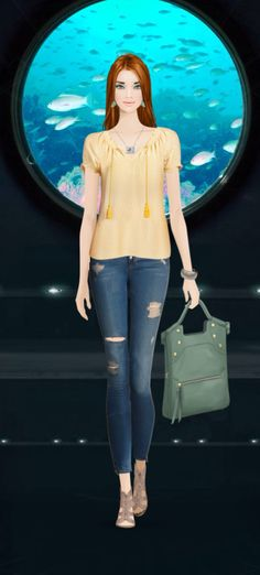 Covet Fashion Game | Jet Set Event | Yachting in Maldives | Ride in a deep sea mini sub | Entry #1 | Total ✈️ 3.57 [27 Feb 2014]
