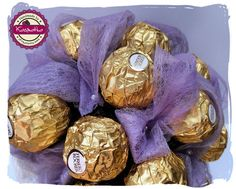 Bukiet z czekoladek Ferrero Rocher | Kasmatka