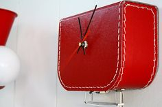 Suitcase Wall Clock