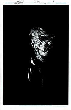 The Joker by Greg Capullo Jonathan Glapion