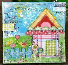 mixed media night pictures - Google Search