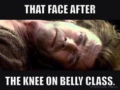 Knee on Belly  www.Facebook.com/McDojoLife