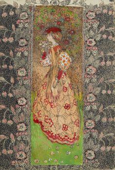 The Orange Dress - Annie French