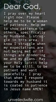 Prayer Of The Day - Patience In Marriage