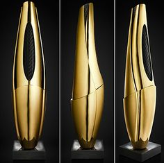 Shape Audio Organic Harmony Speakers Gold.