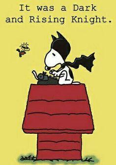 Bat-Snoopy...