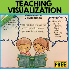 Free visualization graphic organizers and anchor chart pieces