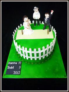 Cricket Wedding Cake | Flickr - Photo Sharing!