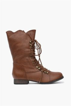 The Georgia Moto Boot in Tan