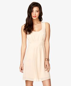 froever 21 Strappy Back Dress | LOVE21 - 2000033240