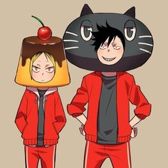 I can't believe kenma is called pudding head XD