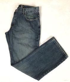 International Concepts INC Men's Size 36x32 Amsterdam Blue Denim Jeans  | eBay
