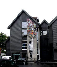 Martin Whatson. NUART 2014. Stavanger, Norway