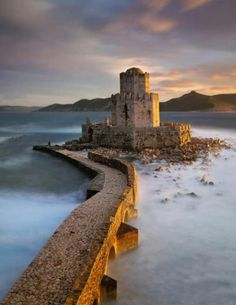 ancient fortress of Methoni Peloponnese, Greece