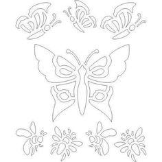 Image result for flower stencil pattern