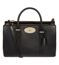 MULBERRY Bayswater small double zip tote