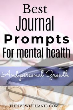 Personal reflections through journal prompts is a powerful way to improve your mental health. Journaling daily is recommended practice by metnal health professional, because it works to clarify, to help mov past events and look to the future with hope and they are a great way to achieve personal grwoth. Chesck this list of power journal promtps for your mental health Mental Health Journal, Mental Health Care, Improve Mental Health, Health Professional, Learning To Love Yourself, Healthy Sleep, Therapy Tools, Mental Health Issues, Health Challenge