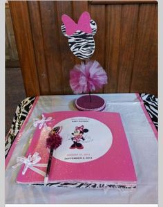 Minnie Mouse Baby Shower Decorations