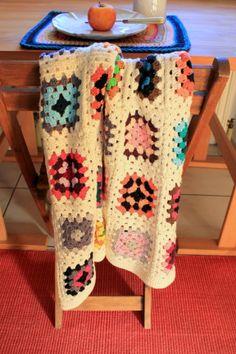 baby granny blanket *winter flower*