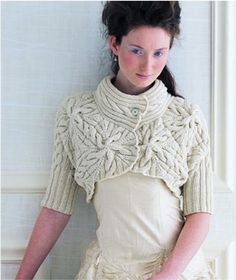 As it says on the site, this is not just a knitwear pattern, this is ART.  This year I'm planning on knitting - no housework, just knitting.