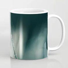 dew drops on grass Coffee Mug