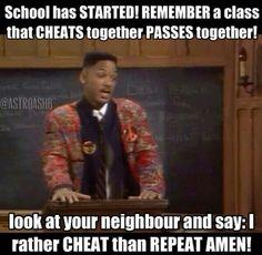 Lol School Fresh Prince #meme