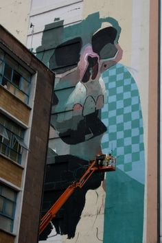 ARYZ #streetart #mural #grafffiti
