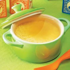 Babies will love this soup made with little pasta. It can be changed according to your baby's taste—try adding mashed carrots, creamy spinachor tiny bits of broccoli, chicken or turkey. - parenting.com