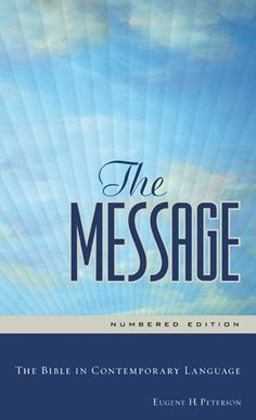 11 best books worth reading images on pinterest book lists the message the bible in contemporary languageeugene h fandeluxe Choice Image