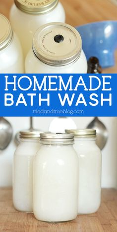 Make tons of Homemade Body Wash with just ONE BAR OF SOAP! Super easy to adjust and add different scents. Castile Soap, Glycerin Soap, Diy Beauty Crafts, Homemade Body Wash, Body Tutorial, Bath Melts, Homemade Soap Recipes, Lavender Soap, Shampoo Bar