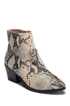 334ebb08267 Women s Luna Faux Leather Studded Welt Western Bootie - Universal ...