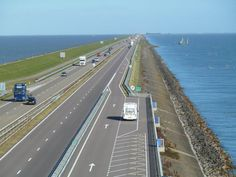 Afsluitdijk,Den Oever,Nederland