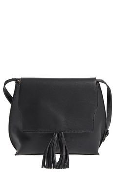 $54.95  Sole Society Tassel Faux Leather Crossbody Bag available at #Nordstrom