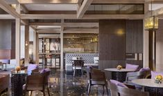 Reception lounge at the Four Seasons Kyoto by HBA Design