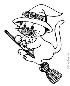 Home Decorating Style 2020 for Coloriage Chat Halloween à Imprimer, you can see Coloriage Chat Halloween à Imprimer and more pictures for Home Interior Designing 2020 18620 at SuperColoriage. Free Halloween Coloring Pages, Witch Coloring Pages, Pumpkin Coloring Pages, Cat Coloring Page, Animal Coloring Pages, Free Printable Coloring Pages, Coloring Pages For Kids, Coloring Books, Fall Coloring