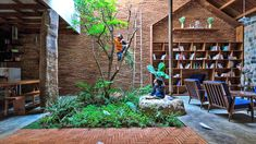 Uncle's House, Uncle's House by 3 Atelier, 3 Atelier, Vietnam, home, house, children, childhood, living space, vegetables, tree, trees, treehouse, treehouses, living tree, living trees, nature, environment, architecture, design