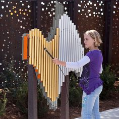 exciting small backyard playground kids design ideas page 56 Interactive Installation, Interactive Art, Installation Art, Kids Outdoor Playground, Playground Design, Harmony Park, Parque Linear, Public Space Design, Public Spaces