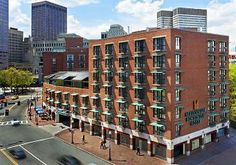 Millennium Bostonian Hotel, 26 North Street At Faneuil Hall Marketplace, Boston, Massachusetts United States - Click 'n Book Hotels