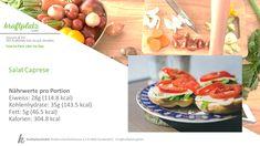 Jetzt wo es wieder wärmer wird sind Salate einfach genial, mein Favorit Caprese Salat😋 Caprese Salat, Vegetables, Food, Salads, Food Portions, Simple, Recipies, Essen, Vegetable Recipes