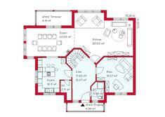 Floor Plans, Home And Garden, Sims, House, House Construction Plan, Earth House, Dream House Plans, Ground Floor, New Construction