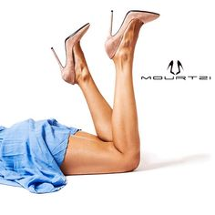 Alice in Mourtzi-land! www.mourtzi.com #mourtzi #nude #pumps #heels