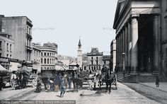 Plymouth, George Street 1889, from Francis Frith