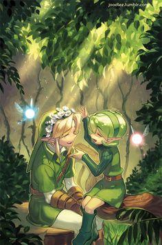 Avec la sage verte
