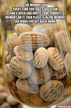 Simple Ideas That Are Borderline Crafty � 35 Pics  Check out the Memory Jar for vacation/memories  @Stacy Stone Stone Stone Stone Stone Plaster @Jocelyn Pitcock @Jolene Klassen Klassen Klassen Klassen Klassen Elizabeth @Karen Jacot Jacot Jacot Darling Space & Stuff Blog @عبدالعزيز الجسار Bukhamseen Home Sweet Home Blog serrano
