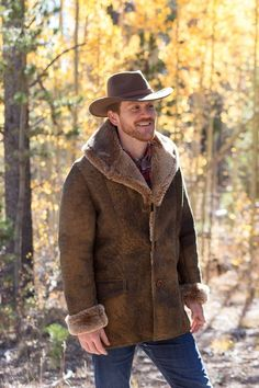 Choosing The Right Men's Leather Jackets – Revival Clothing Sheepskin Jacket, Sheepskin Slippers, Shearling Jacket, Leather Jacket, Fur Coat, Style Masculin, Revival Clothing, The Right Man, Mens Gear
